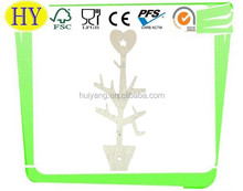 unfinished decorative heart tree shaped fancy wooden craft