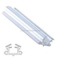 Rubber glass shower door seal strip HS12049A