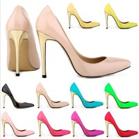 hot selling high hell fashion latest shoes 2014 for women