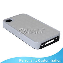 2D Sublimation Blank Phone Case for Iphone 4 best brands mobile phone leather case for Iphone