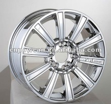 Chrome Wheels With 8/100+114.3
