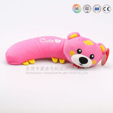 Comfortable plush kids products neck cushion for children