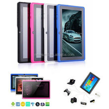 2014 bulk wholesale tablet q88 with android 4.4,3G dongle, Google Market support,call-touch smart tablet pc