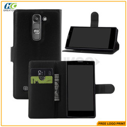 Showkoo For LG G4 Mini Case 2015 New Products Leather Wallet Case with Stand for LG G4 Mini wholesale