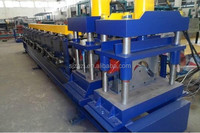New Type CE Two Profile galvanized colored steel heat preservation composite board roll forming machine