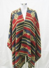 Stock!!! New Sexy Fashion Pashmina Aztec Women Poncho