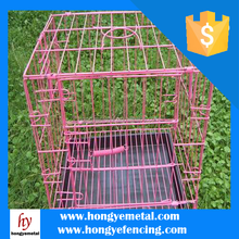 Small Metal Galvanized Welded Rabbit Cage