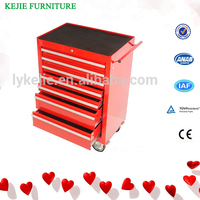 Europe Design Cheap Iron Board Tool Cabinet Small Steel Tool Chest Roller Cabinet Metal Tool Box