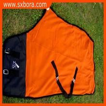 Horse Sheet Polar FLEECE COOLER Blanket Orange