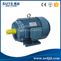 High Torque Low Rpm Ac Three Phase Electric Large Motor