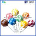 sabor de la fruta dulce forma de bola halal caramelo