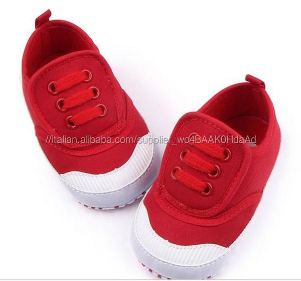 scarpa prewalker <span class=keywords><strong>scarpe</strong></span> bambino rosso tacco alto scarpa sportiva