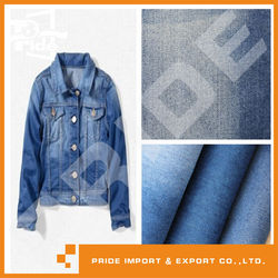 PR-JD258 100% cottton stock denim fabric to pakistan