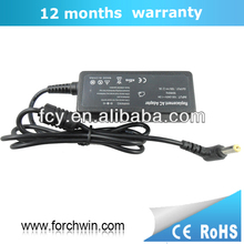 40W Replacement laptop power charger for acer aspire output 19v 2.1A with one-year warranty