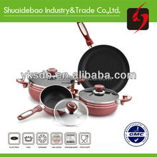 7pcs Stock Kitchenware and Cookware