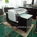 uv máquina de impresión digital, impresora plana uv con alta resolución para la venta
