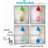 new colorful plastic bottle hs code