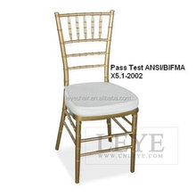 Factory Direct Resin Chiavari Chair Resin Tiffany Chair Plastic Tiffany Chair for Party and Events for Hotel Wholesale price