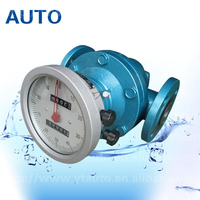 LC oval gear flow meter used for heavy oil/diesel oil/ fuel oil made in China