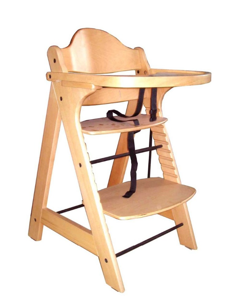 Eco friendly Folding Wooden Baby High Chair Buy Baby