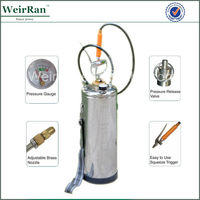 (101777) hot sale high quality stainless steel water pressure pump manual spray