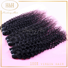 Brazilian Loose Wave Virgin Hair, Tissage Bresilienne Curly, 100% Human Hair Weaving