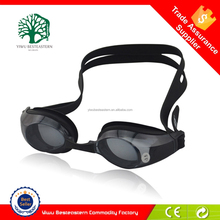 Amazon supplier Water sport silicone mirrored optical swimming goggles