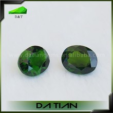 New design black beads earrings green natural strand of chrome diopside