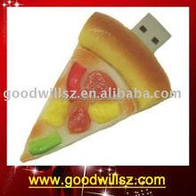 Pizza shape ,Funny shape 2gb/4gb/8gb/16gb/32bg USB Flash Drive for gift