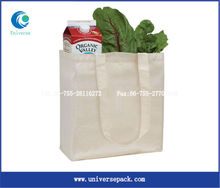 custom shopping cotton tote bag for vegetables and fruits