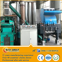scrap metal wires and copper wires granulator waste cable crusher