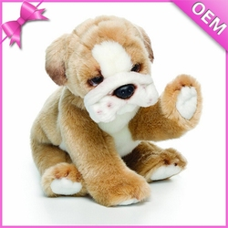 custom make pug dog stuffed animal plush toy manufacturer