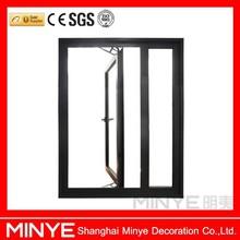 double glazed security hinge window/aluminum hinge windows