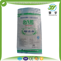 Wholesale woven PP 25kg flour sack