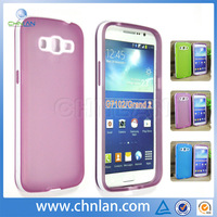 New arrival durable 2 in 1 skin cover for samsung galaxy grand 2 g7102 pc tpu case