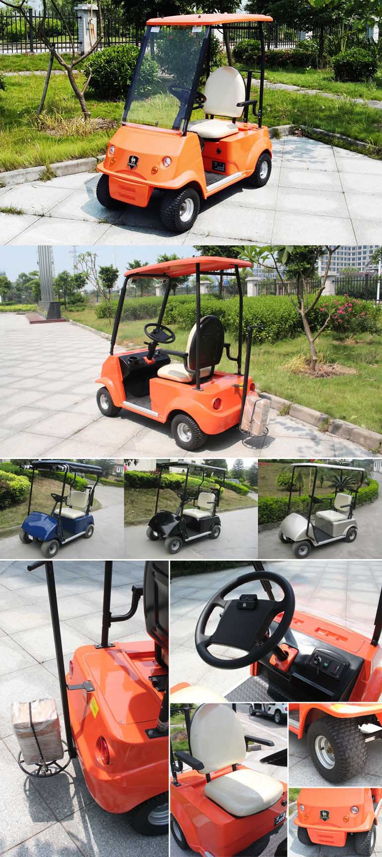 2015 New Single Seater electric golf cart DG-C1 with CE certificate (China)
