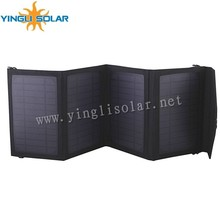 portable Flexible solar folding charge package for mobile phone,ipad