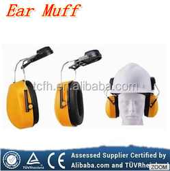 Popular good quality Safety ear muff CE Standard Ear muff with Safety helmet used safety hard hat
