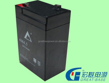 high quality rechargeable vrla good price sealed lead acid battery 6v 4ah agm battery solar battery