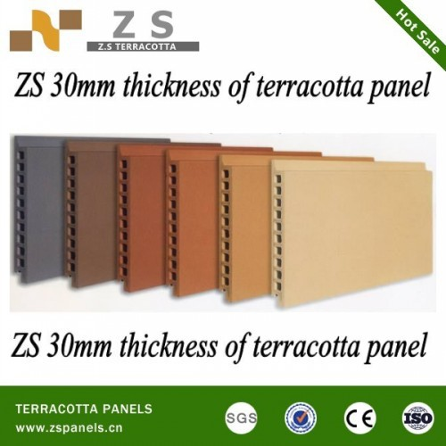 Best Terracotta Panel Uncoated Exterior Wall Facades Terracotta Wall ...