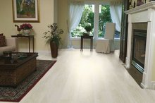 Laminated Wood Flooring - Champagne Pine