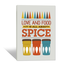Canvas Painting for Restaurant Decor/Dropshipping Home Decor Art/Wholesale Wall Hanging Picture