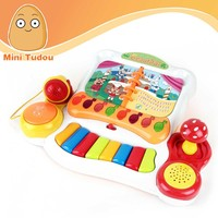 HOT selling child toys joy harp orchestra toy with light and music MT800647