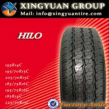 HILO PCR TIRES 195R14C 185R14C 195/70R15C