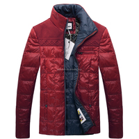 Guangzhou Custom Latest Fashion Dresses Mens Duck Down Feather Padded Popular Jackets Coat