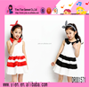 2015 Latest Doll Collar Princess Dress Boutique Hot Selling Newest Baby Girl Cotton Dress