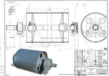 Ceramic Lagging Carbon Steel Belt Conveyor drum Pulley
