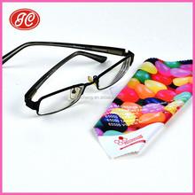 Alibaba.com 2015 hot sales eholesales customer custom print microfiber glasses cleaning cloth