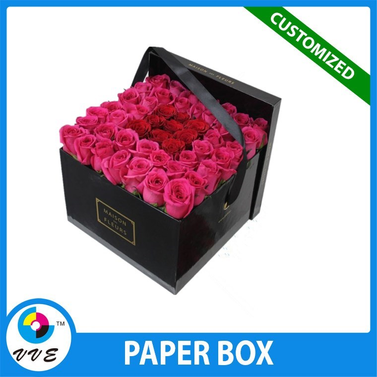Alibaba Round White Paper Tube Flower Shipping Boxes/ Flower Bouquet ...