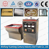 New Arrival ,metal etching machine for sign making